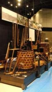 国立民族学博物館の畑作コーナーの展示の様子①