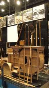 国立民族学博物館の畑作コーナーの展示の様子③