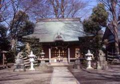 海老名の有鹿神社本宮