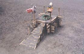 秦野市上大槻(1987年)。秦野市などでも盛んに作られ、階段も見えている。