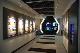 リニューアルオープンした天文展示室
