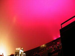 プラネタリウムコンサート風景