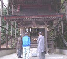 望地弁天堂の祠 (中央区田名)