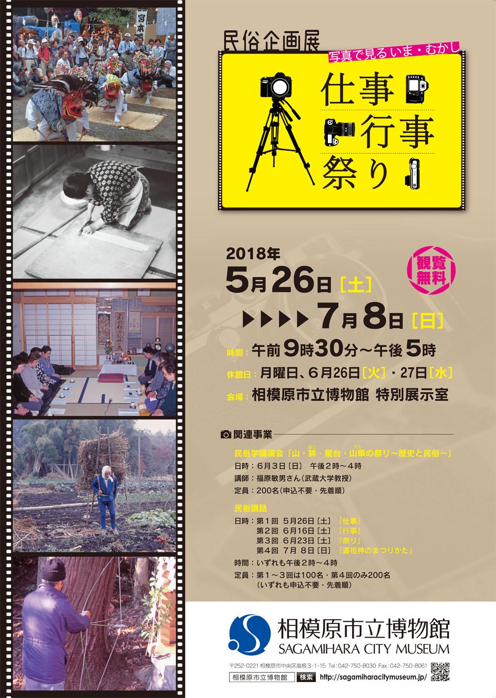 民俗企画展「仕事・行事・祭り」