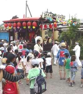 山車と囃子は、天王祭には切っても切れないものである