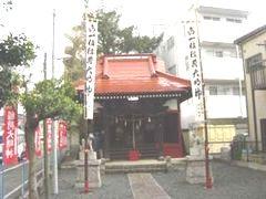 蚕守稲荷神社。