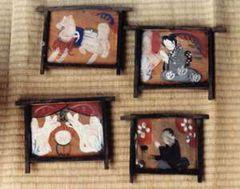 かつて貸し出されて蚕室に飾られた絵馬(現在は整理されて残っていません)
