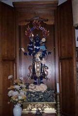 本堂内の青面金剛像
