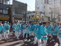八幡八雲神社の宮御輿