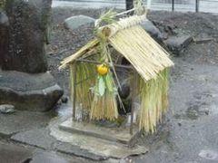 4  南区当麻 3の小屋は14日には完成していた(1月14日午前 雨)
