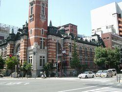 才兵衛最初の出願跡地 (現在の横浜市開港記念会館のあたり)