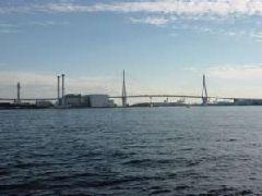 海浜公園から見た東京湾